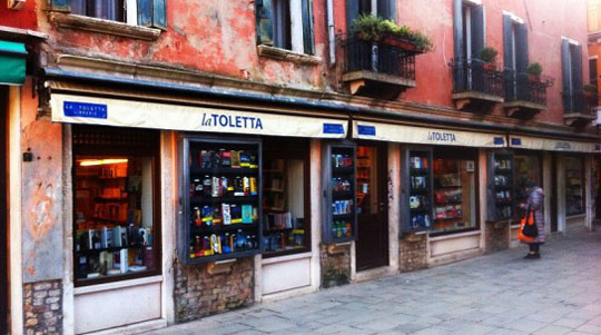Venetie_libreria_toletta-boekhandel