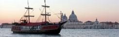 Romantische dinercruise op de Galeone Veneziano